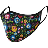 SMMASH Beschermend mondkapje voor in de zomer, stofafstotend luchtdoorlatend masker, herbruikbaar, wasbaar, licht…
