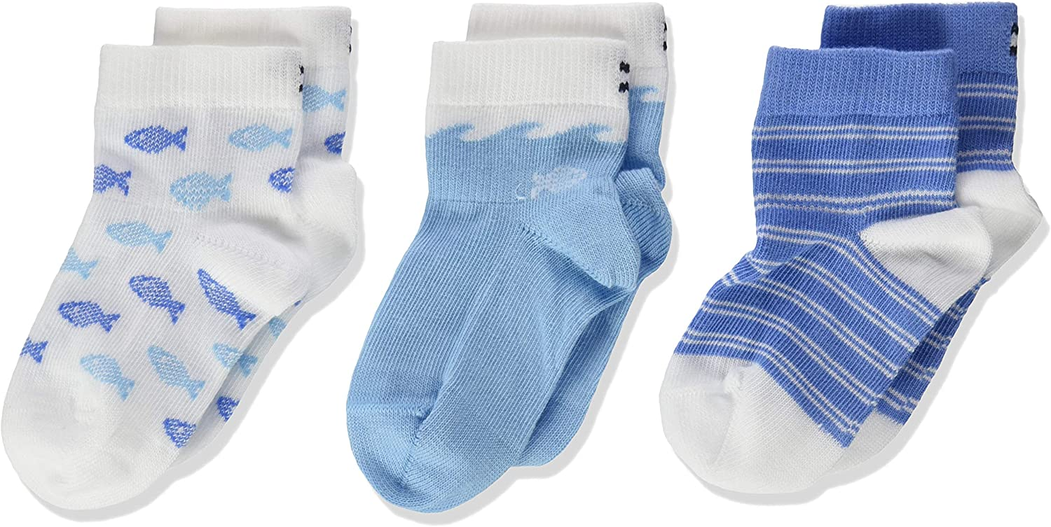 Tommy Hilfiger Baby Boys Calf Socks Pack of 3