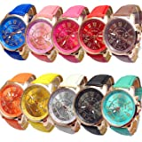 Women's Wholesale 10 Assorted Platinum Watch Fashion Quartz Watch