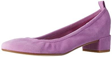 b66e8703275 GARDENIA COPENHAGEN Ballerina, Women's Ballet Flats, Purple (Suede Lilac),  6 UK