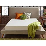 Live and Sleep - Resort Classic New 8-Inch Queen Size Cooling Medium Firm Memory Foam Mattress and Shredded Form Pillow, Low VOC Certi-Pur Certified