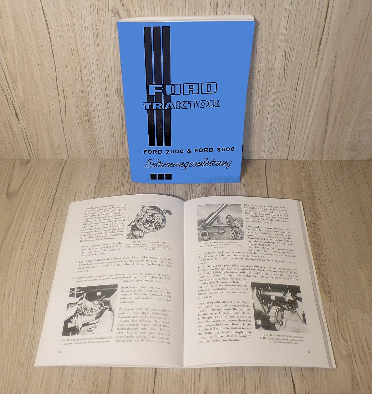 Ford Werkstatthandbuch Traktor Elektrische Anlage Super Dextra 3000 .