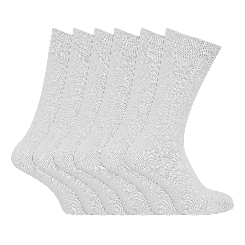 Uomo Calze Taglie XL 100/% Cotone