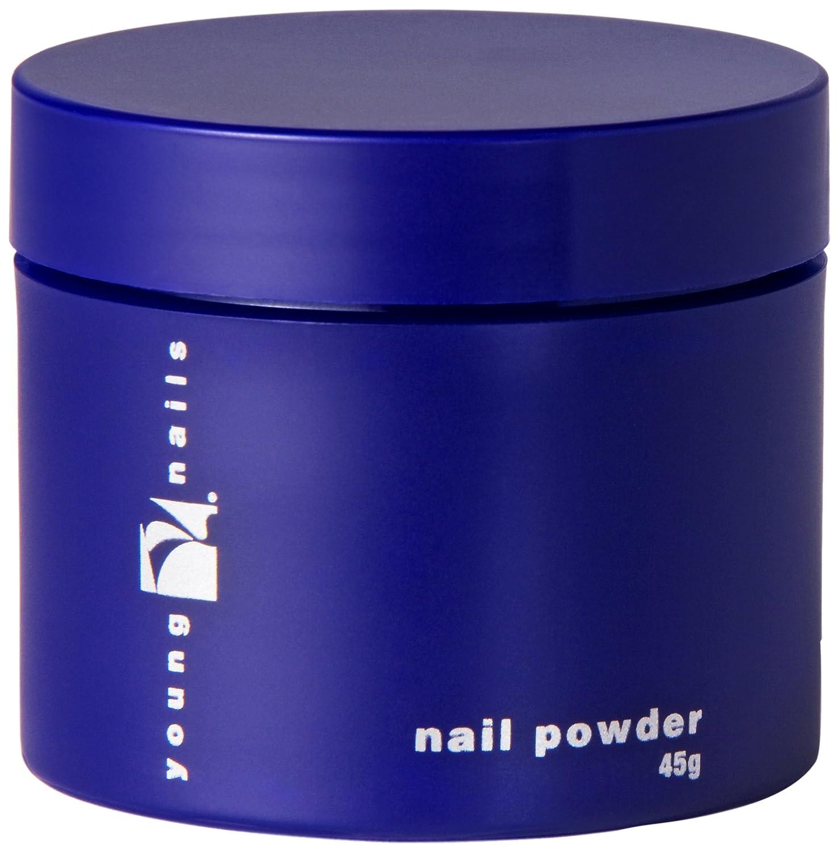 Young Nails Clear False Nail Powder, 45 Gram
