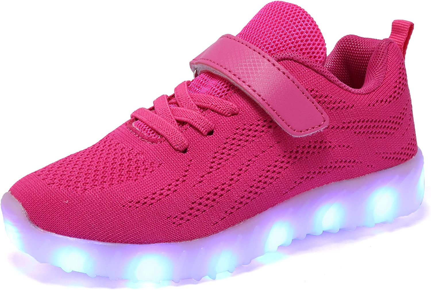 Toddler//Little Kid//Big Kid adituo Kids Led Light Up Shoes Luminous Flashing Sneakers for Boys Girls