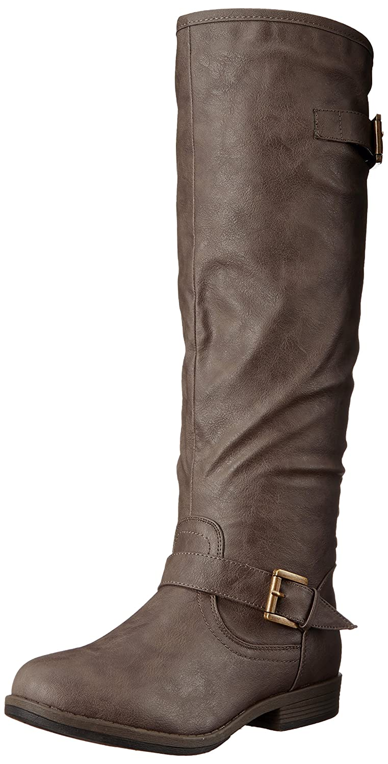 Brinley Co Women's Durango Riding Boot Regular & Wide Calf