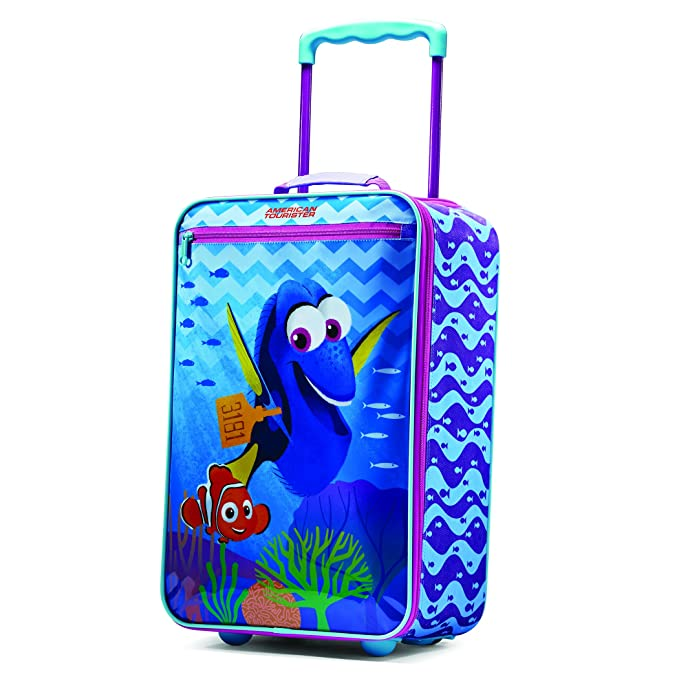 """American Tourister Disney 18"""" Upright Softside, Finding Dory"""