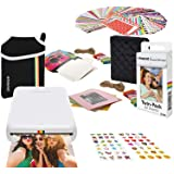 Zink Kodak Step Printer | Wireless Mobile Photo Printer Zero Ink Technology & Kodak App for iOS & Android (White) Gift…