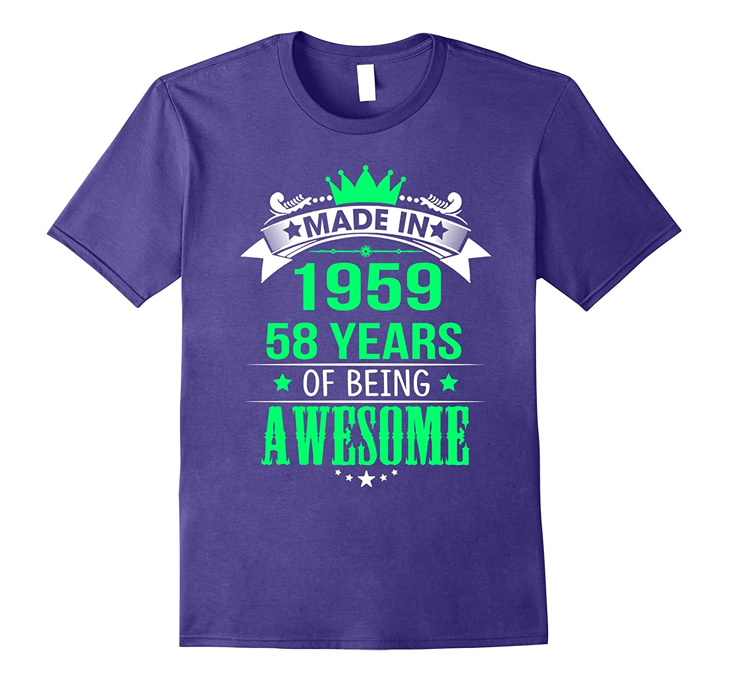 58th Birthday Shirt. Happy Birthday Shirts For Men/Women.-Art