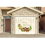 christmas decor banner single car garage door murals covers outdoor home decor door cover billboard full