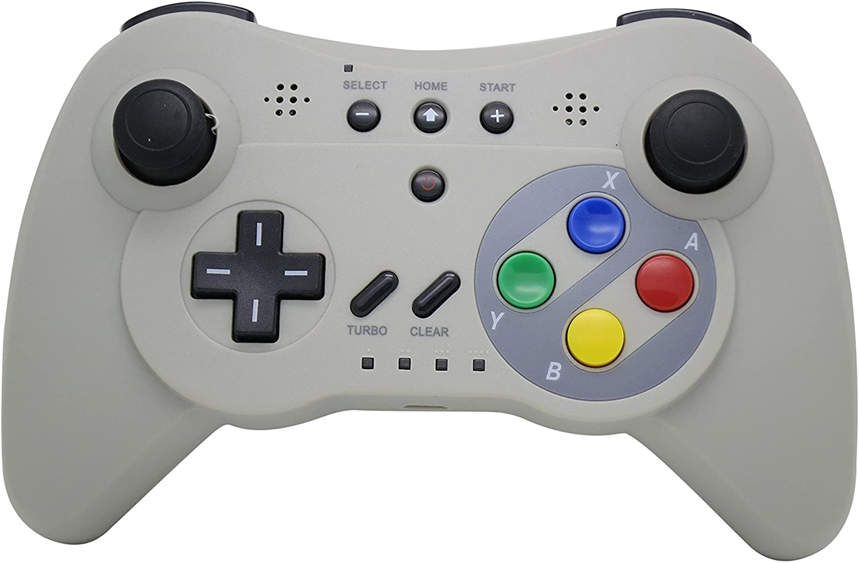 NEXiLUX inalámbrico 3 Pro Controller Gamepad for Nintendo Wii U ...