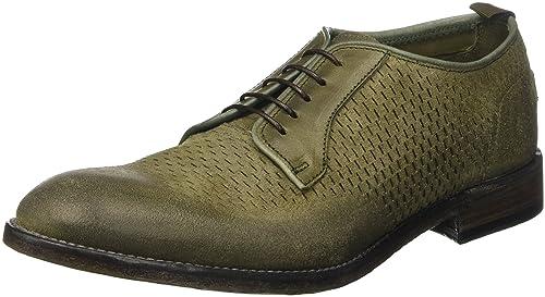 9018G scarpa uomo nero BARRACUDA calzatura shoes men [42.5] C4Axc7TIMr