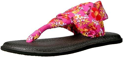 Mujer Yoga Sling 2 Prints Flip Flop, Paradise Pink Waikiki ...