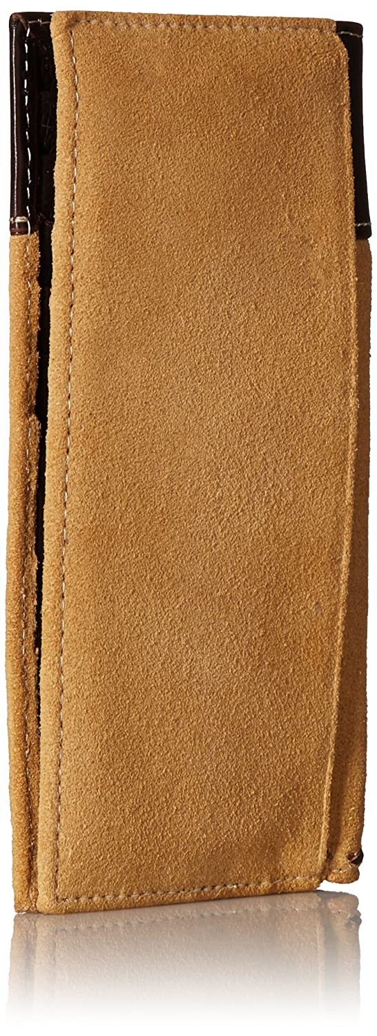 Ariat Mens Rough Out Buck-Stitch Rodeo Wallet