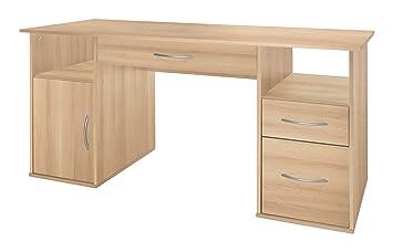 Wilmes bureau bois hêtre cm
