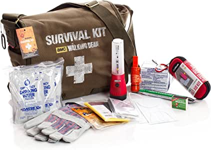 First My Family AMC's The Walking Dead Survival Kit - One Person