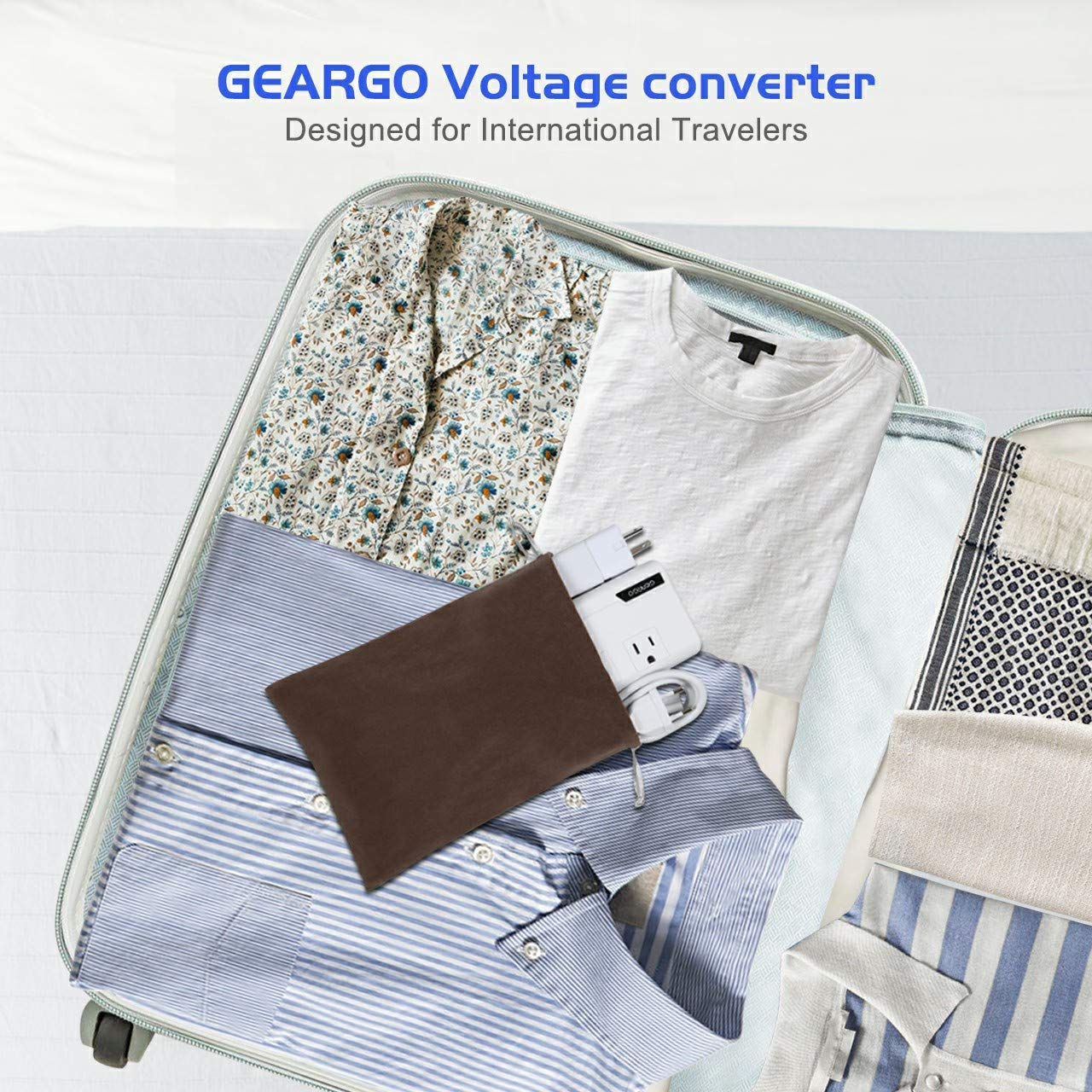 Power Converters GEARGO Power Converter All-in-One 220V to 110V ...