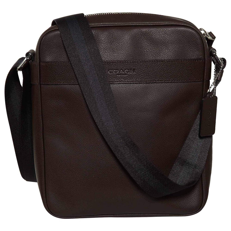 cd4d387a2372 Amazon.com  Coach Men s Flight Bag Smith Leather Crossbody Bag F54782  Mahogany  Starliner Discounted Designer Brands