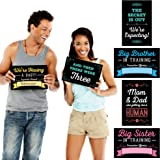 Pregnancy Announcement - Photo Prop Kit - 10 Count