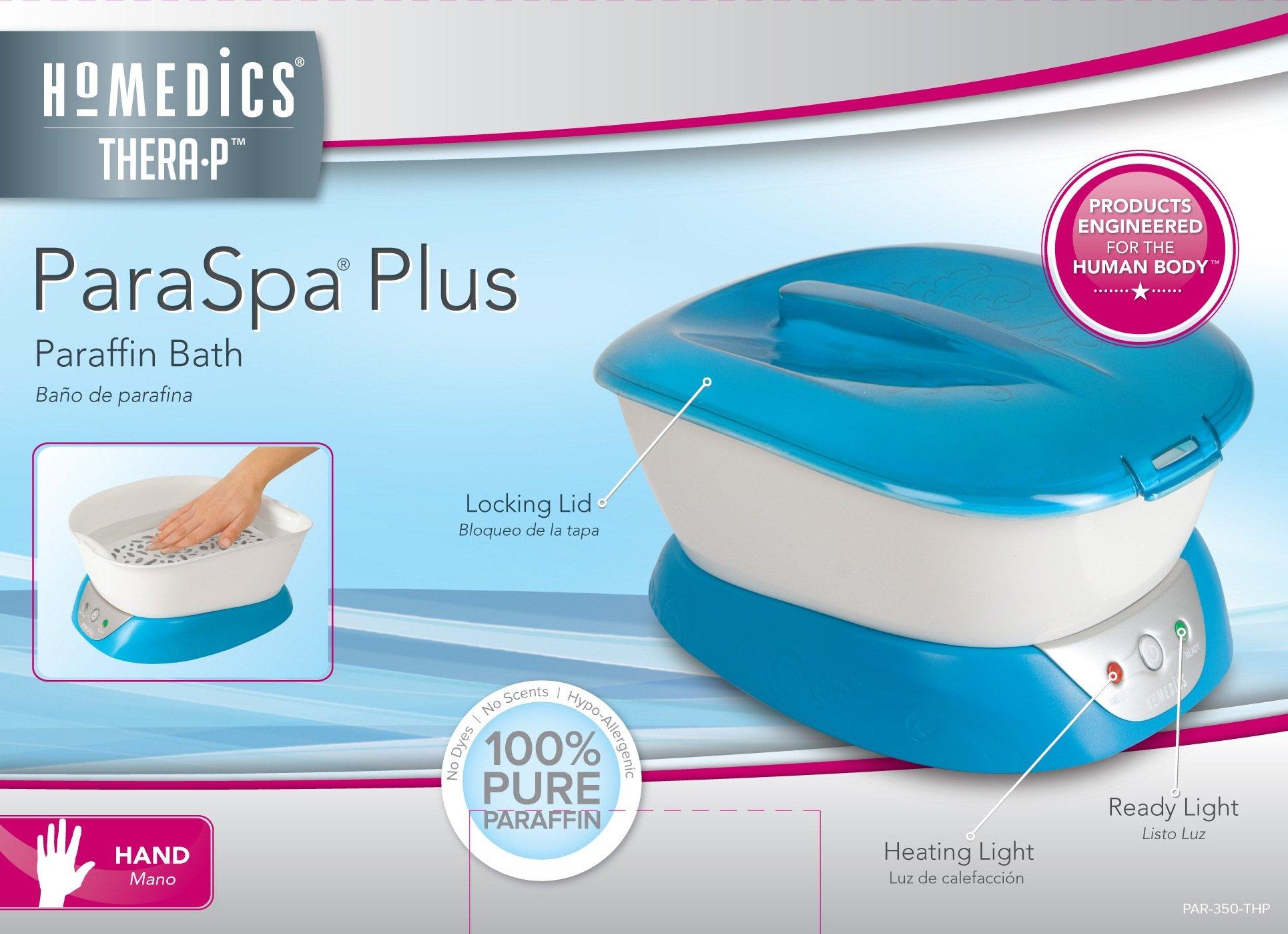 HoMedics Thera-P Paraspa Plus Paraffin Bath by Homedics (Image #3)