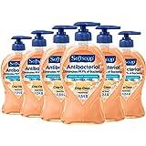 Softsoap Antibacterial Liquid Hand Soap, Crisp Clean - 11.25 fluid ounces, 6-Pack