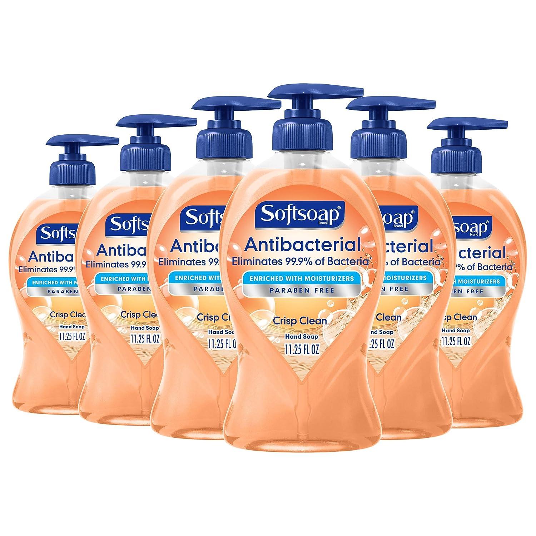 洗手比戴口罩更重要!Softsoap消毒抗菌护手洗手液