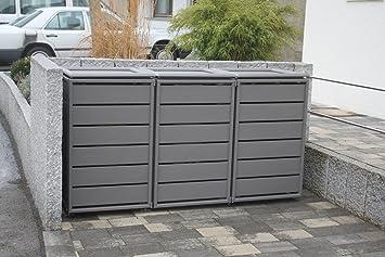 Sehr Gero metall Mülltonnenschrank, Boxen für Mülltonnen WJ87