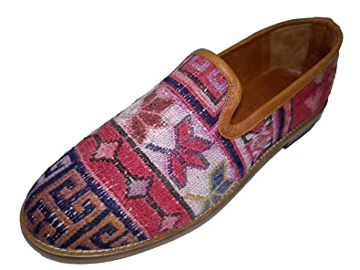 c1bc8bd82ac AnkaCraft Handmade (44-EU) Kilim Shoes Bohemian Rugs Wool Carpets Quality  Footwear (