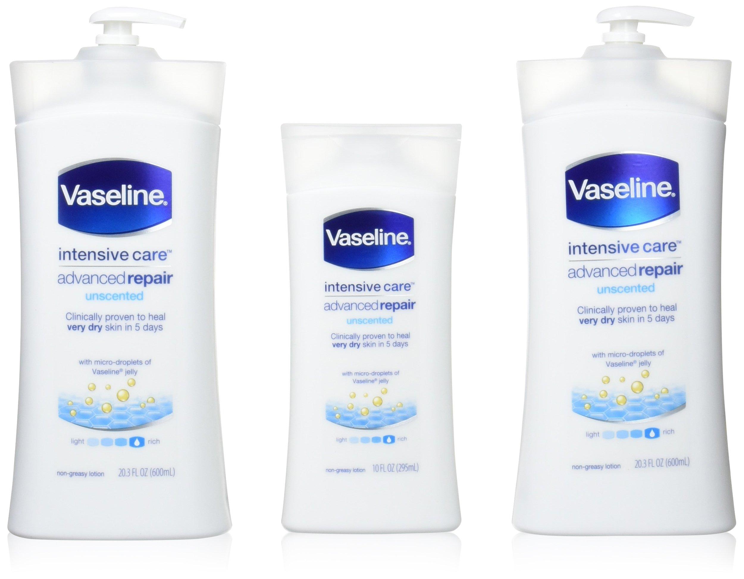 Vaseline [repairing moisuture]リペアリング モイスチャー ローション 3本セット 642498 product image