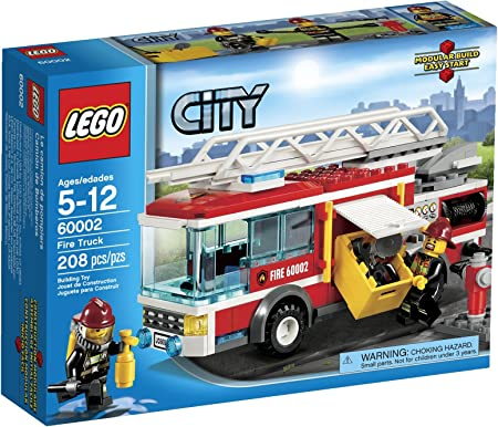 LEGO City Fire Truck 60002 by LEGO: Amazon.es: Juguetes y juegos