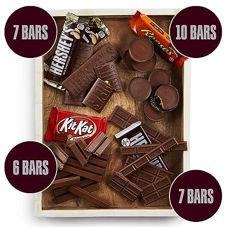 HERSHEY'S Halloween Chocolate Candy Bar Assorted Variety Pack (HERSHEY'S  Milk Chocolate,