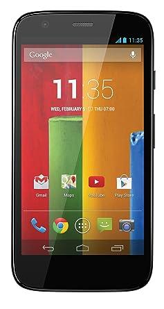 Motorola MOTO G (4 5 inch) 8GB 5MP Mobile Phone (Black)