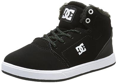 DC Shoes Crisis High WNT, Zapatillas para Niños, Azul (Dark Navy), 34 EU
