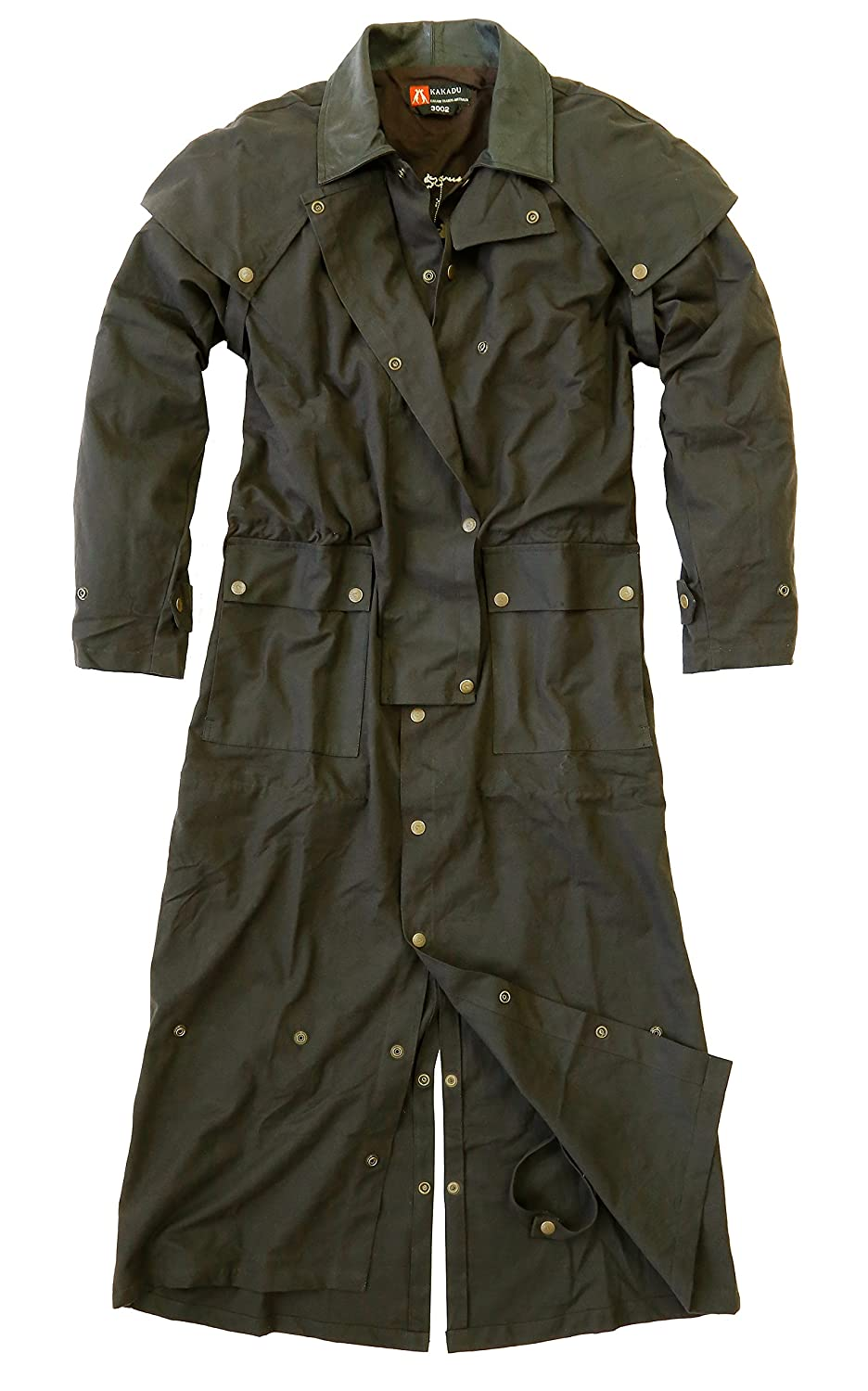 Kakadu Traders Long Rider 3-IN-1 Original Oilskin Wachsmantel