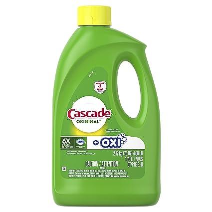 Cascade Gel lavaplatos detergente, limón, 75Oz ...
