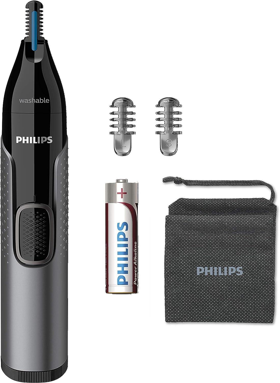 Aparador de Pelos Philips NT3650/16 Nariz Orelhas e Sobrancelhas