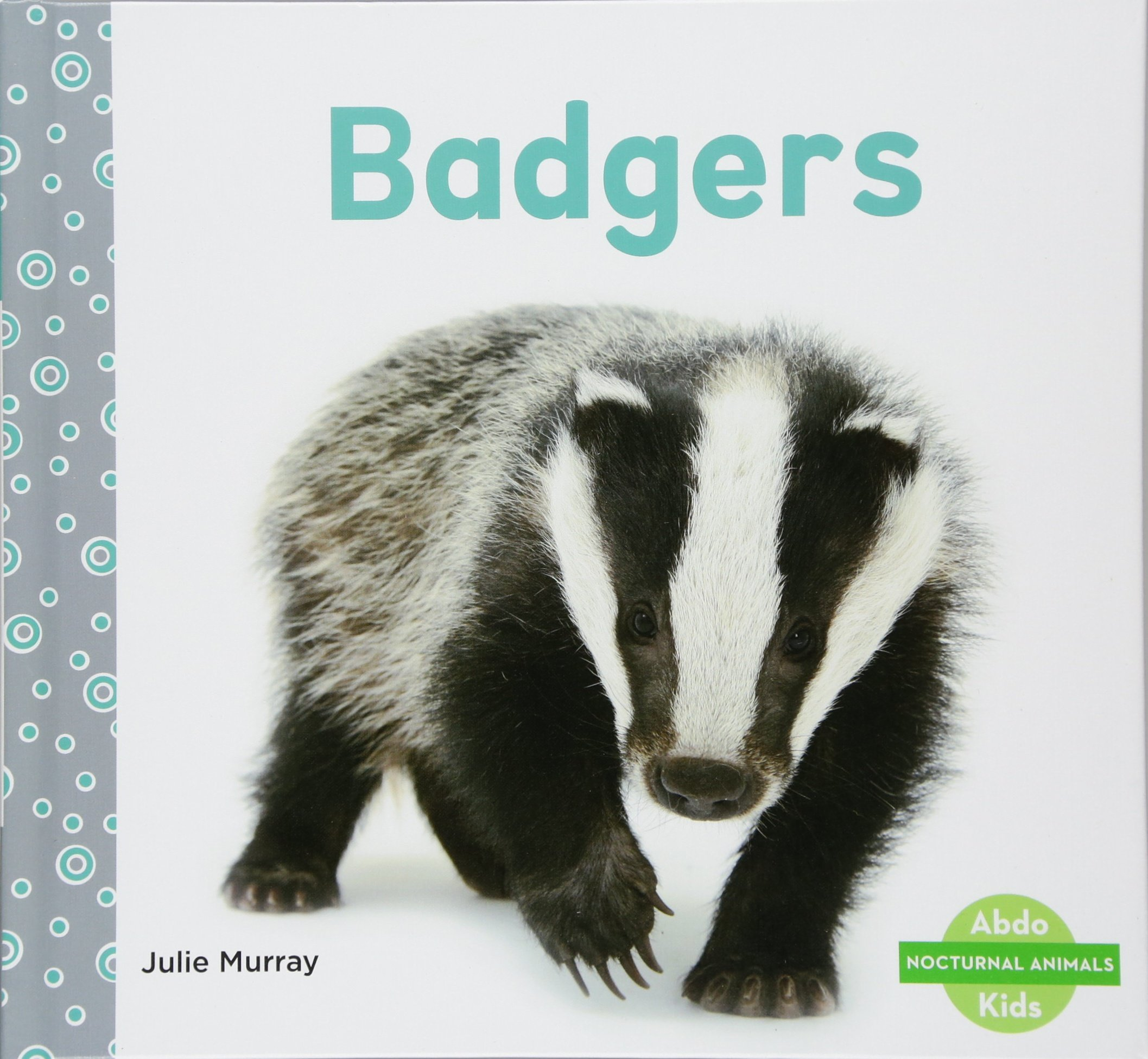 Image of: Dangerous Nocturnal Badgers nocturnal Animals Library Binding January 26 2018 World Wildlife Fund Badgers nocturnal Animals Julie Murray 9781532104053 Amazoncom