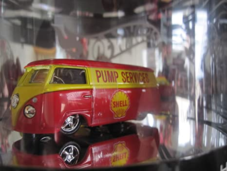 Vw Microbus Shell Logo Hot Wheels Limited Edition High Test Oil Can Package