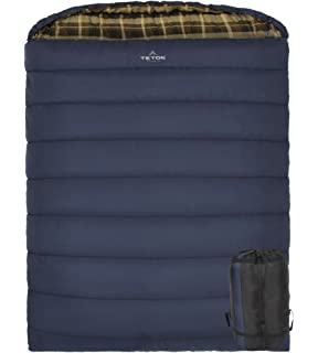 TETON Sports Mammoth Queen Size Sleeping Bag Warm And Comfortable Double Great