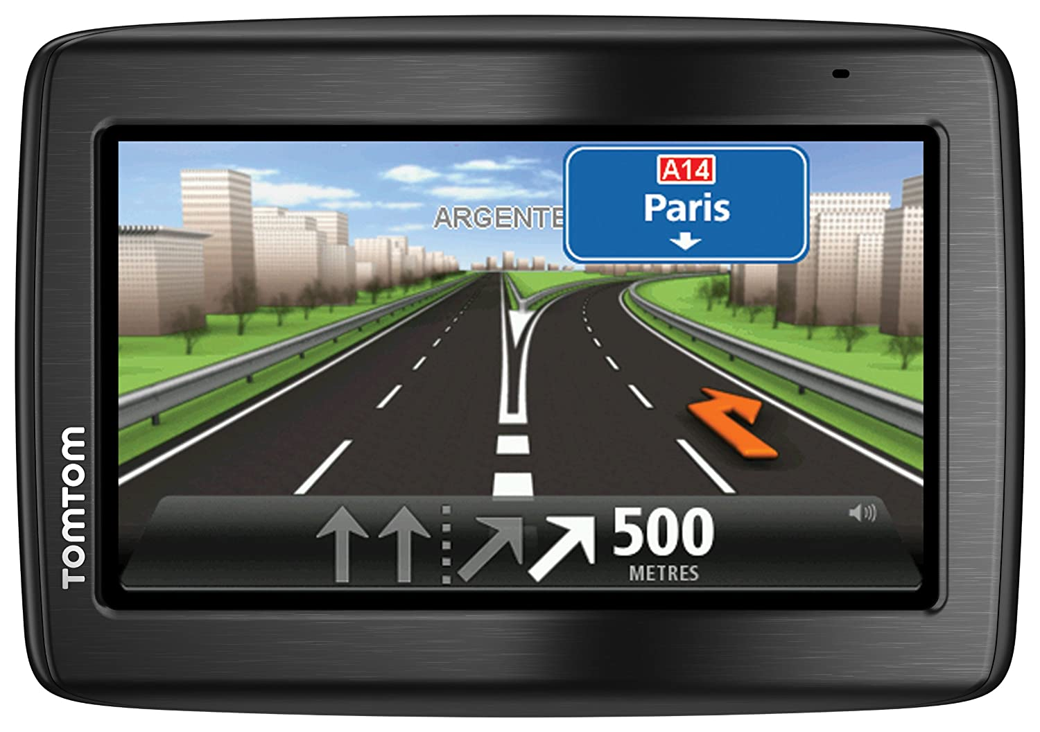 TomTom VIA 135 M Europe Navigationssystem (Kontinent) 1EQ5.002.11