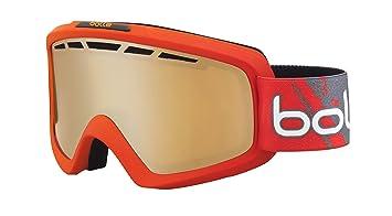 063bda432f Bollé Nova – Gafas de esquí II Matte Red Gradient Modulador/Citrus Gun,  21464