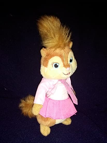 "Ty Alvin and the Chipmunks 8"" Brittany Plush ..."
