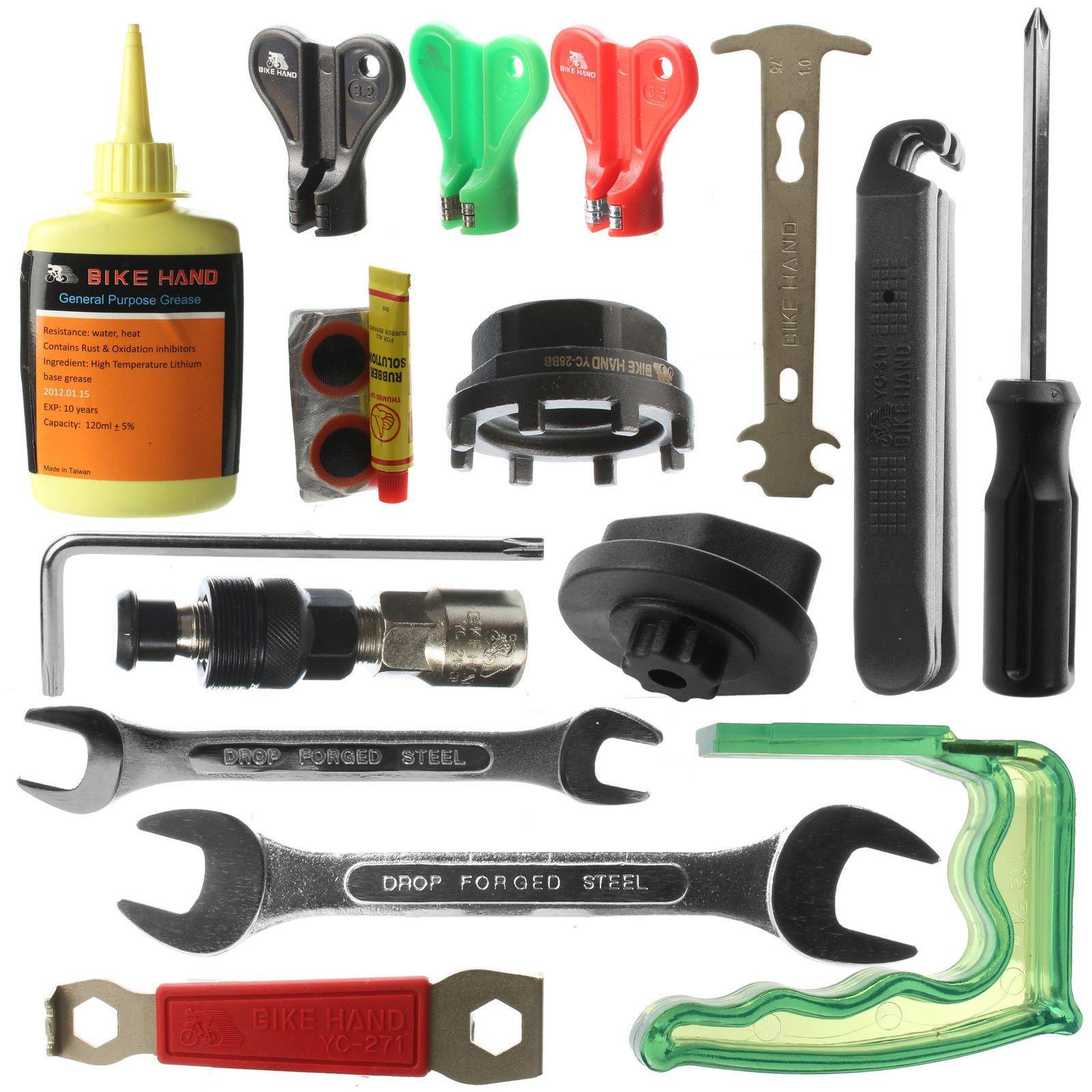 BIKEHAND Complete Bike Bicycle Repair Tools Tool Kit by Bikehand (Image #2)
