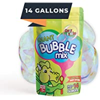 CrazyBubbles Bubbles for Kids - 14 Gallons of Giant Bubble Solution - All Natural, Vegan & Non-Toxic Bubble Solution…