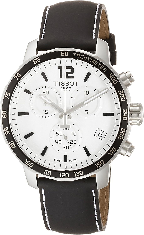 Tissot Men s T0954171603700 Quickster Analog Display Swiss Quartz Black Watch