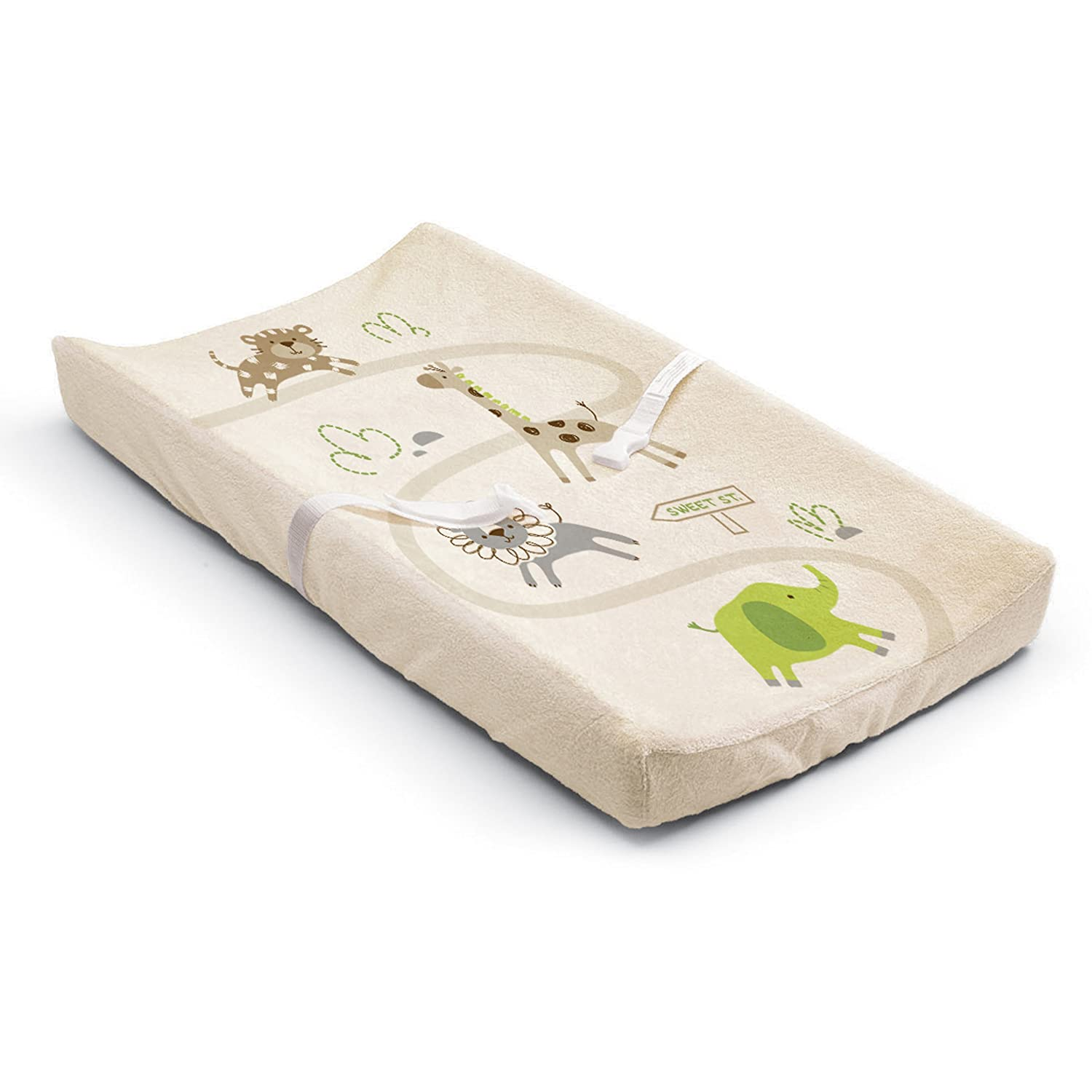 Summer Infant Ultra Plush Character Changing Pad Cover, Safari Stack Inc. 92520
