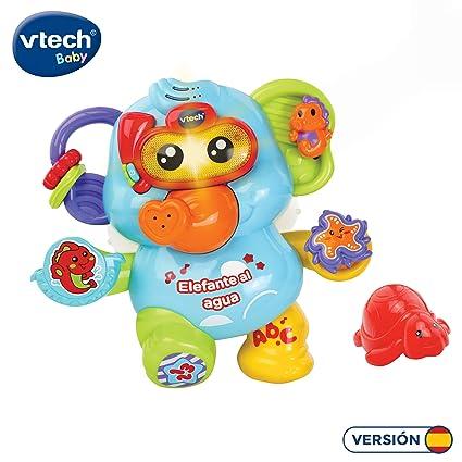 Vtech- Elefante Al Agua Bebé, Juguete Para Baño, C...