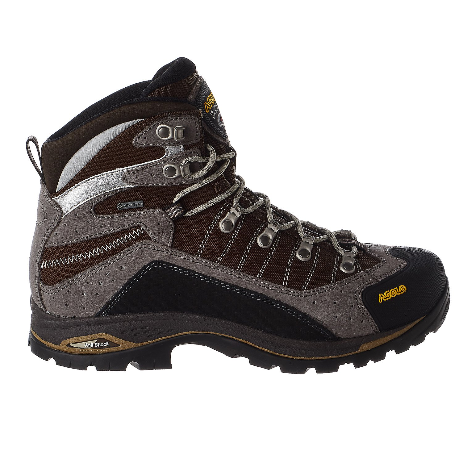Asolo Men Drifter GV Hiking Boots B00WE3LOCE 14 D(M) US|Cendre/Brown
