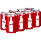Coca-Cola Classic, Mini-Can, 7.5 Ounce (Pack of 8)