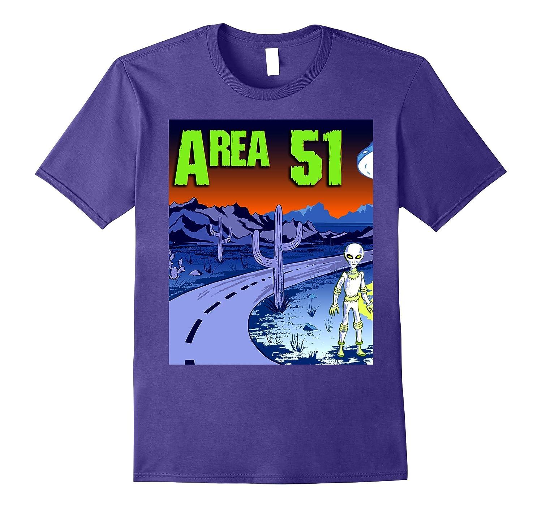 Area 51 Alien Highway T-Shirt-PL
